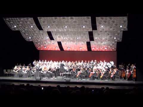 BGHS Choir & Orchestra Perfroms:Gloria Domine Deus, Agnus Dei