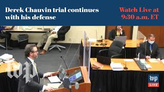 WATCH LIVE | Derek Chauvin trial continues with witness testimony screenshot 3