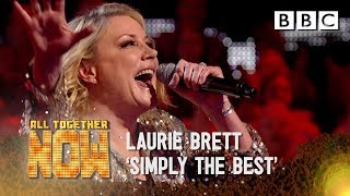 'Simply the Best' vocals you never expected from EastEnders' Laurie Brett - All Together Now