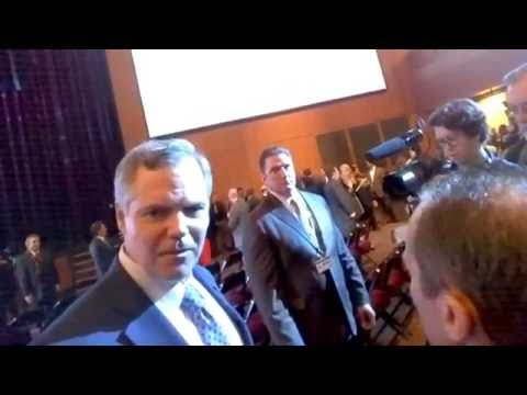 BBN films MGM Resorts International CEO James Murren ambushed by TMZ #MGMResorts