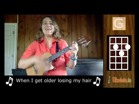 When I'm 64 Beatles Ukulele Song by 21 Songs in 6 Days: Learn Ukulele the Easy Way