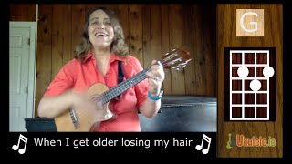 when i m 64 beatles ukulele song by 21 songs in 6 days learn ukulele the easy way