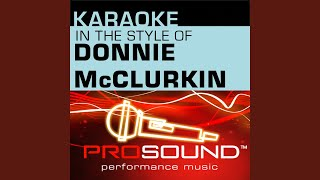 We Fall Down (Karaoke Instrumental Track) (In the style of Donnie McClurkin)