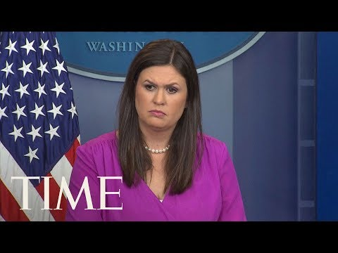 Download Youtube: Sarah Huckabee Sanders Gives Briefing After Port Authority Attack, Trump Accusers Conference | TIME