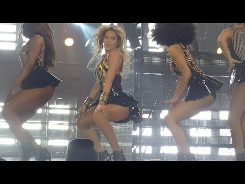 Beyonce - Crazy in Love (Live at the Antwerp Mrs. Carter Show World Tour, 20.03- FRONT ROW) HD