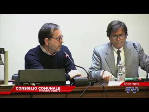 CONSIGLIO COMUNALE VITTORIO VENETO - Seduta del 30.10.2018