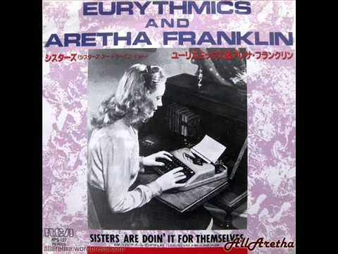 Aretha Franklin & Eurythmics - Sisters Are Doin' It For Themselves - 7