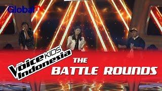 "Nuca vs Stephanie vs Gilbert ""The Man Who..."" I The Battle Rounds I The Voice Kids ..."
