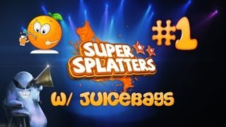 Super Splatters W/ Juicebags! Awesome Indie Action Game! Episode 1