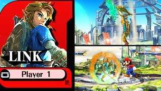Links Moveset in Super Smash Bros. 5 SWITCH 😲