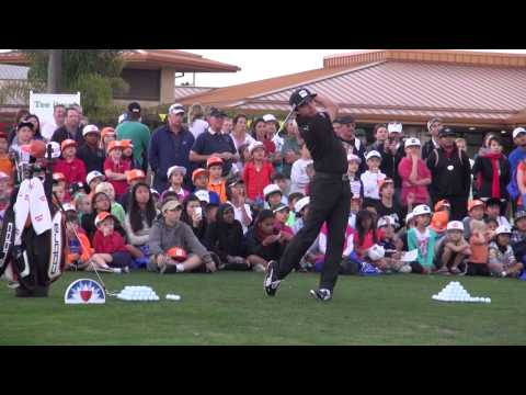 Rickie Fowler and Charley Hoffman Give Back with Farmers Insurance Open