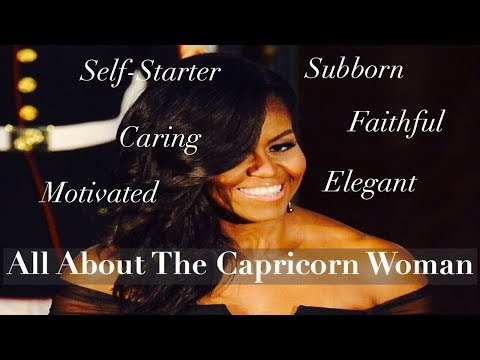 Capricorn woman personality profile dating