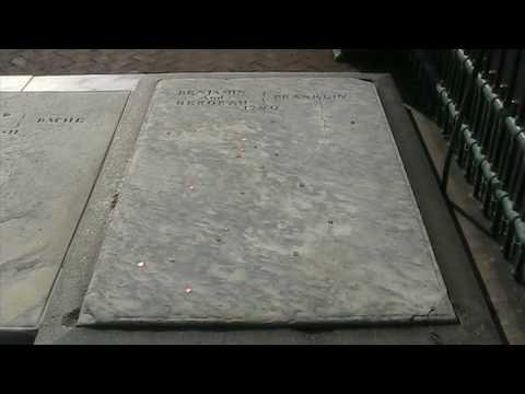 Ben Franklin's grave site