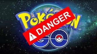 Не играйте Pokémon GO!!!