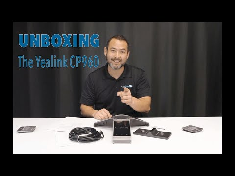 Yealink CP960 HD IP Conference Phone Unboxing