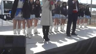 SLあおなみ号出発進行イベント 河村たかし市長とOS☆Uの登場 2/5