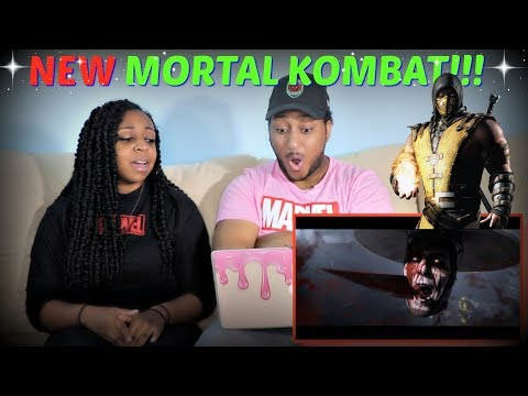 """Mortal Kombat 11"" Cinematic Reveal Trailer REACTION!!!"