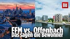 """""""Frankfurt ist das Ende von Offenbach"""" – Diese Stadt-Rivalität ist witziger als Köln-Düsseldorf"""