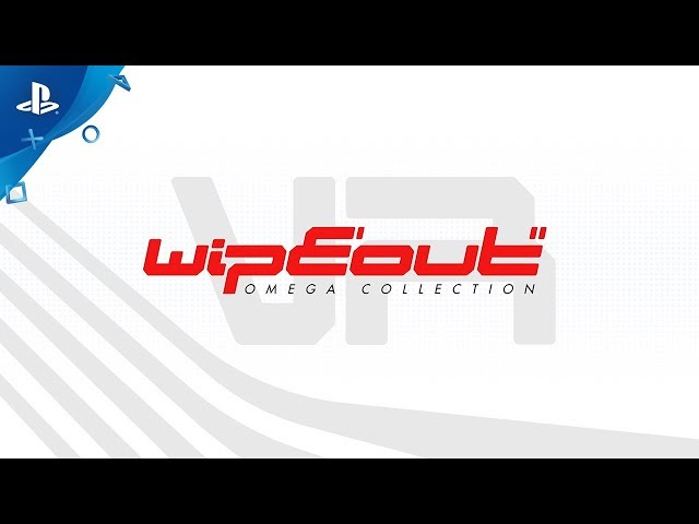 WipEout Omega Collection VR - Launch Trailer | PS4