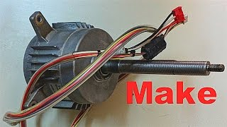STEPPER MOTOR CONVERSION TO THREE PHASE AC PERMANENT MAGNET GENERATOR 4