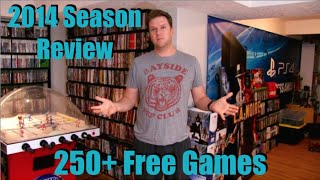 Epic Garage Sale Pickups - Season Review 2014 - 250+ Games & Consoles!!!