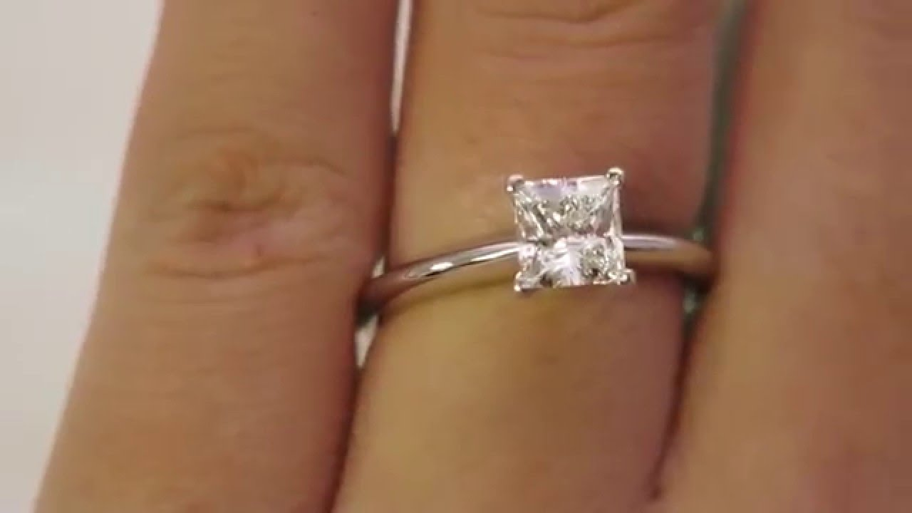 Princess Diamond Cut Ring