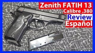 SEDENA México   Zenith FatiH 13 Calibre 380   Clon de la Beretta Cheetah