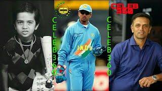 Rahul Dravid   |   Transformation 2 to 48 years old