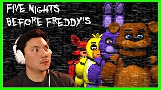 Playing FNAF With NO DOORS?!?!   Five Nights Before Freddy's Night 1 & 2