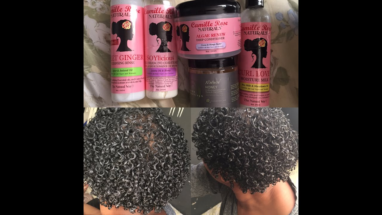 Wash And Go Design Essentials Honey Curl Custard Youtube