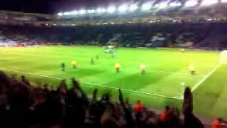 Leicester 0-1 Leeds full time
