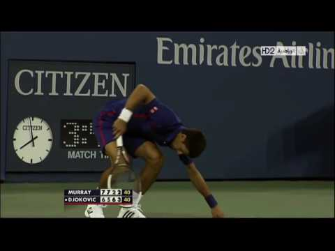 Andy Murray   top 10 the wall mode on rallies