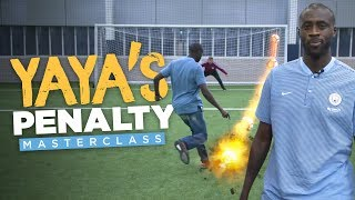 UNSTOPPABLE PENALTIES! | YAYA TOURE'S PENALTY MASTERCLASS!