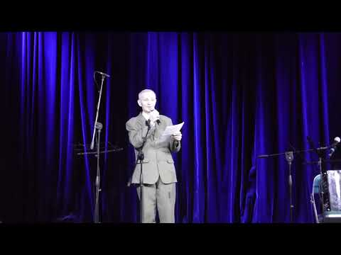 Николай Александрович Ярцев читает стихи поэта Василия Михайловича Леонова