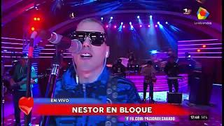 El show completo de Néstor en Bloque en Pasión de Sábado