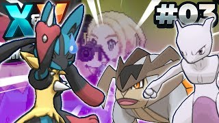 HOW MANY LEGENDARIES!? - Pokémon X and Y Randomizer Cagelocke w/FeintAttacks PART 3!