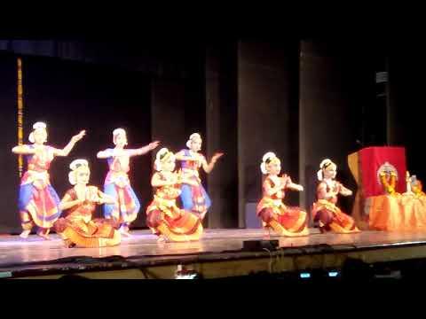 Aditri Kalloor stage performance Bharathanatyam....Swarajathi,   Kala Aradhana Institute of Fine Art