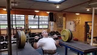 Skulderpres 6x100kg