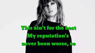 "Taylor Swift - ""Delicate"" Lyric Video"