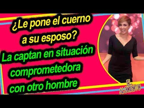 Carmen Muñoz captada en fotos en situacion comprometedora con otro hombre que no es su esposo