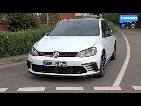 2017 Golf GTI Clubsport (290hp) - DRIVE & SOUND (60FPS)