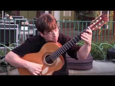 David Wayne Plays Malaguena  Downtown Disney  July 5, 2014