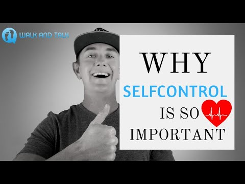 WHY SELF CONTROL IS SO IMPORTANT