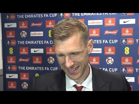 Arsenal 2-1 Chelsea - Per Mertesacker Post Match Interview - FA Cup Final
