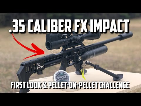FX Impact MKII .35 Caliber: Pellet-on-Pellet Challenge