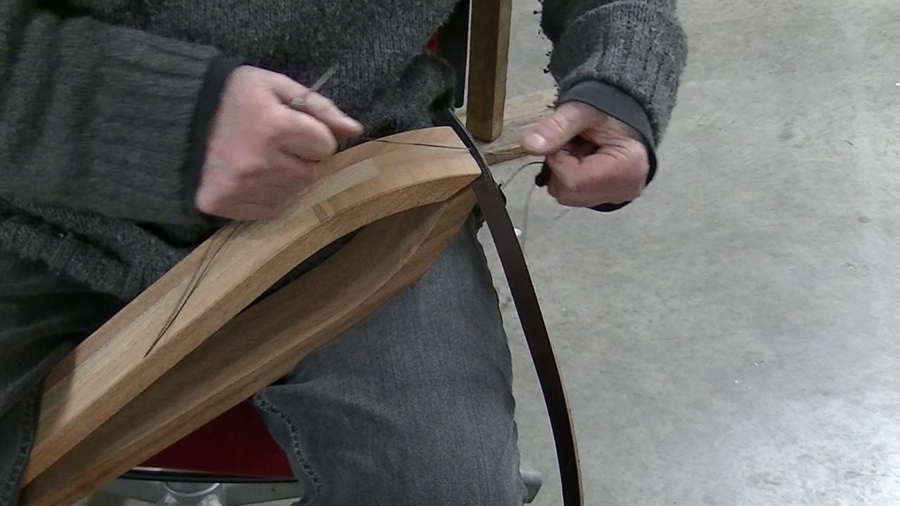 Saddle Stitch with new stitching Clam