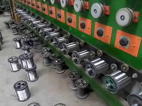 stainless steel annealed wire working line