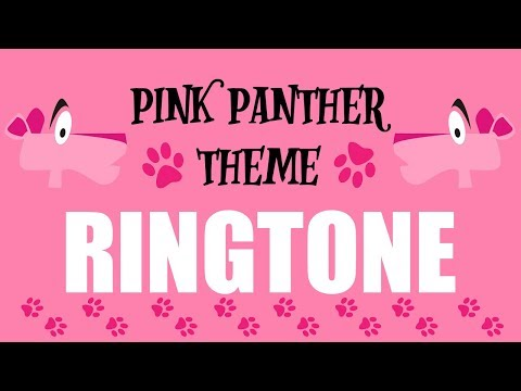The Pink Panther Ringtone and Alert