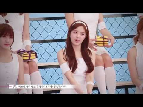 Apink 4th Mini Album [Pink Blossom] 'Mr.Chu' M/V Making Film