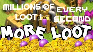 How To Find Big Loot In Clash Of Clans Every second| 100% Working with proof